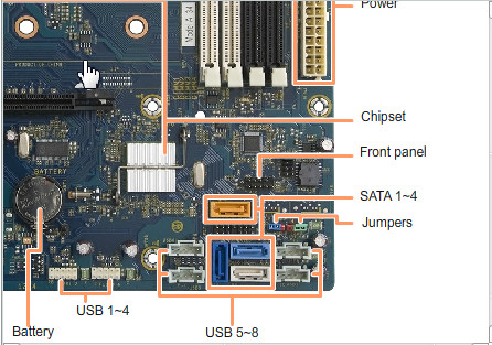Solved: Help -p7-1020 motherboard usb connection pulled off - how to on usb circuit schematic diagram, usb 3.0 wiring-diagram, usb pinout diagram, usb header pinout, usb 3.0 pin diagram, usb cable wiring, usb connector schematic, usb motherboard diagram, usb wire diagram,