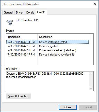 hp truevision hd drivers windows 8.1