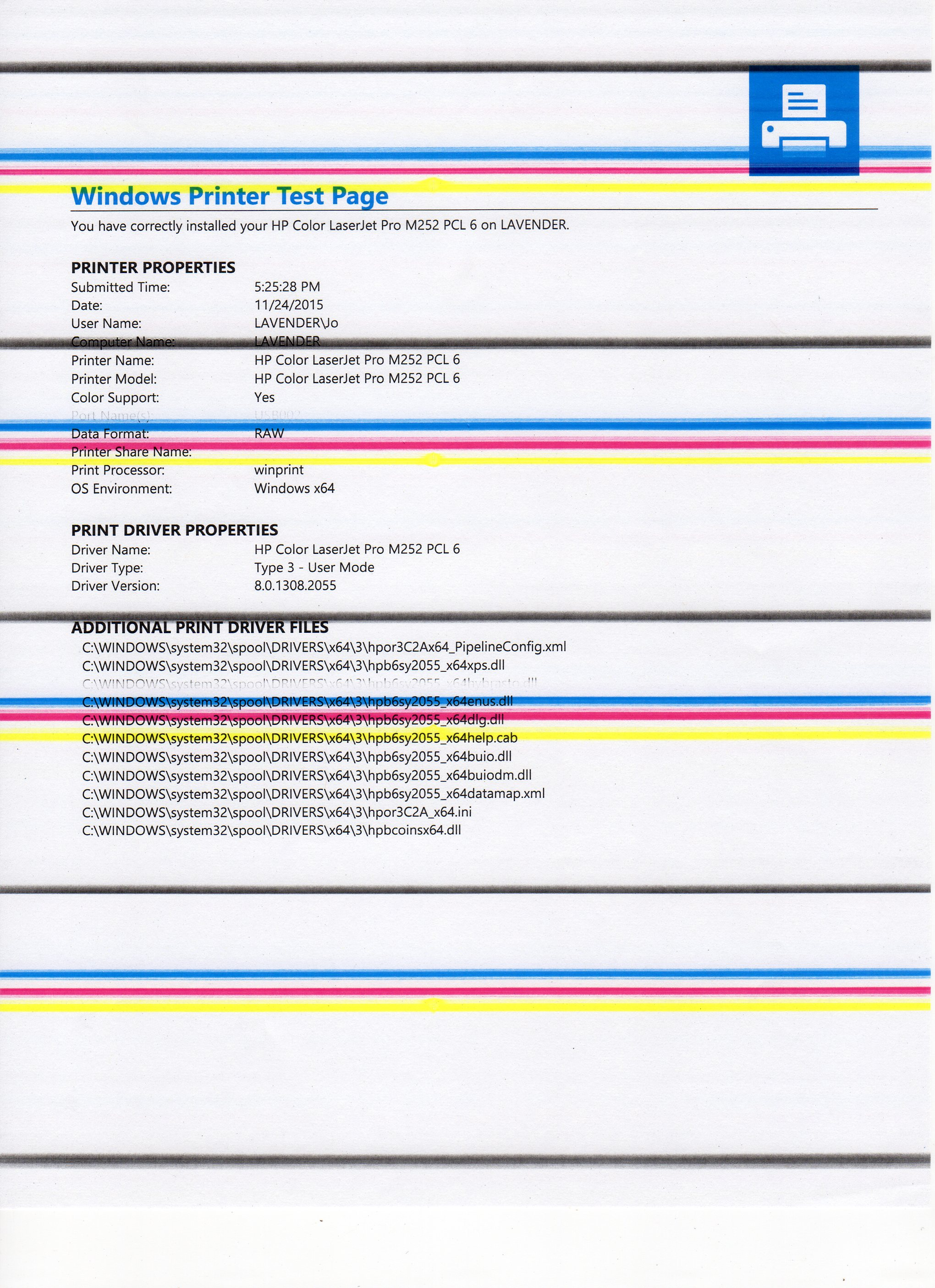 Color Laser Test Page Affordable Color Printer Test Page Pdf