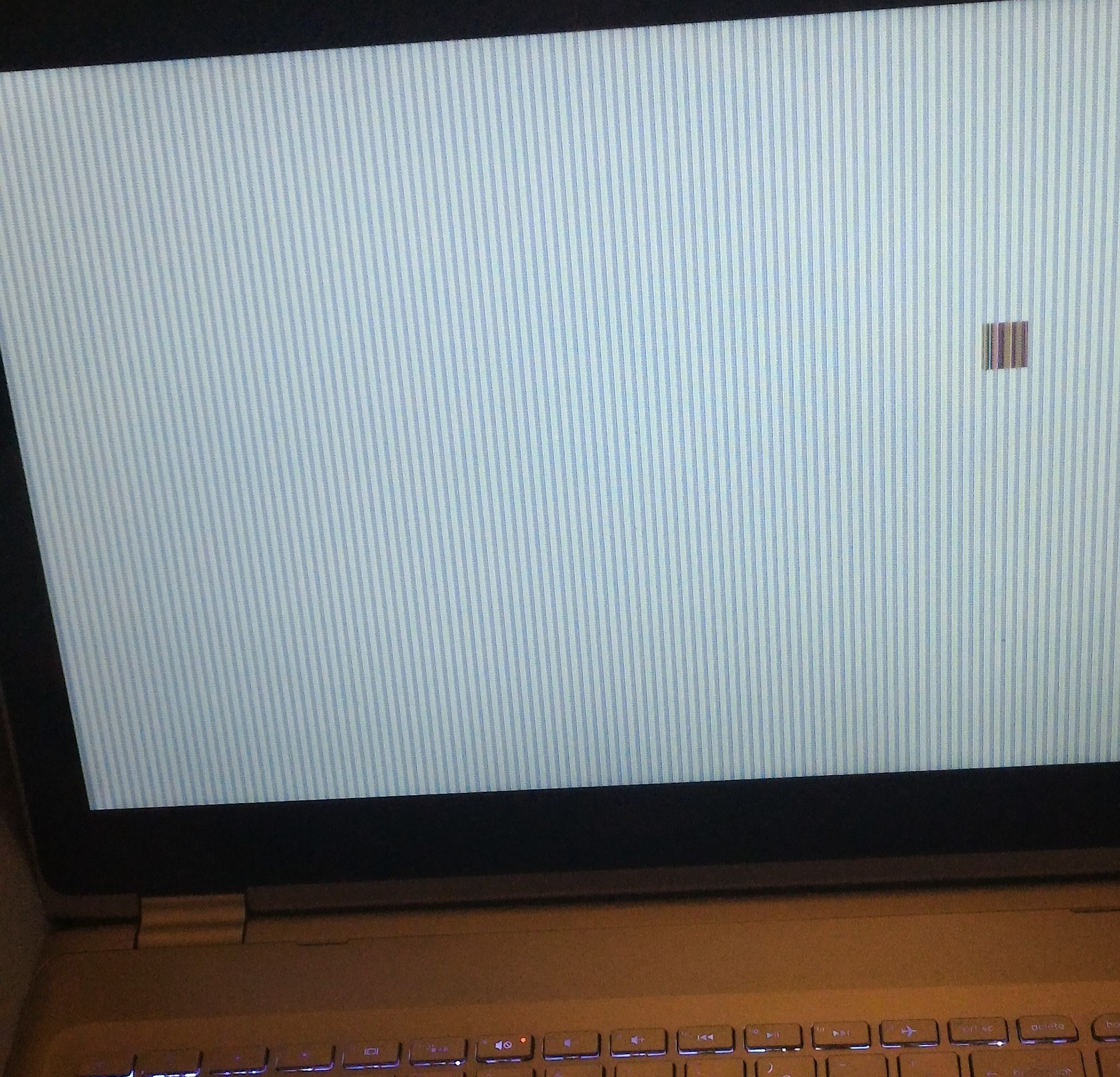 Solved: Pixelated Display After Updating Bios - HP Support