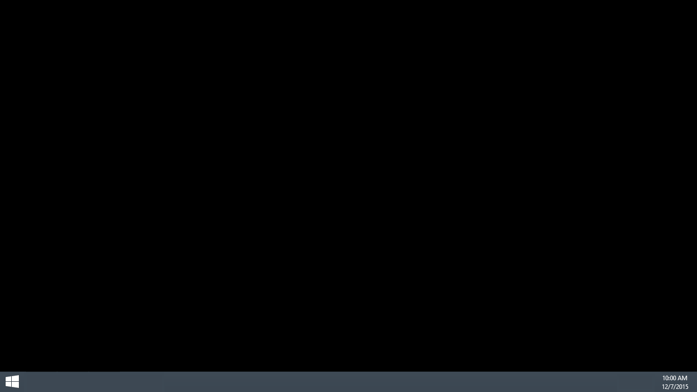 Solved Black Screen For Wallpaper On Desktop Hp Support Community 5387334
