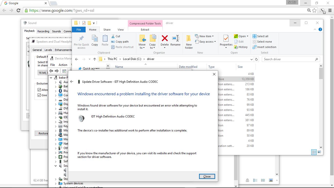 HP ENVY 23-d139 TouchSmart IDT HD Audio Drivers for Windows
