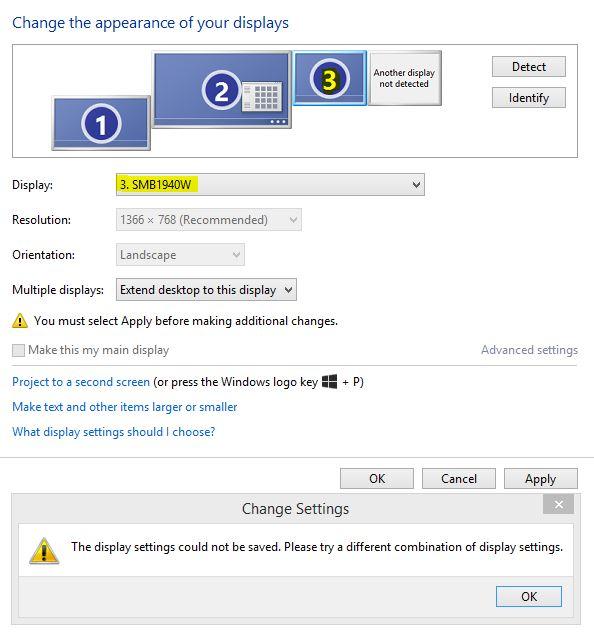 2x DisplayPort on HP Ultraslim Docking Station not working i