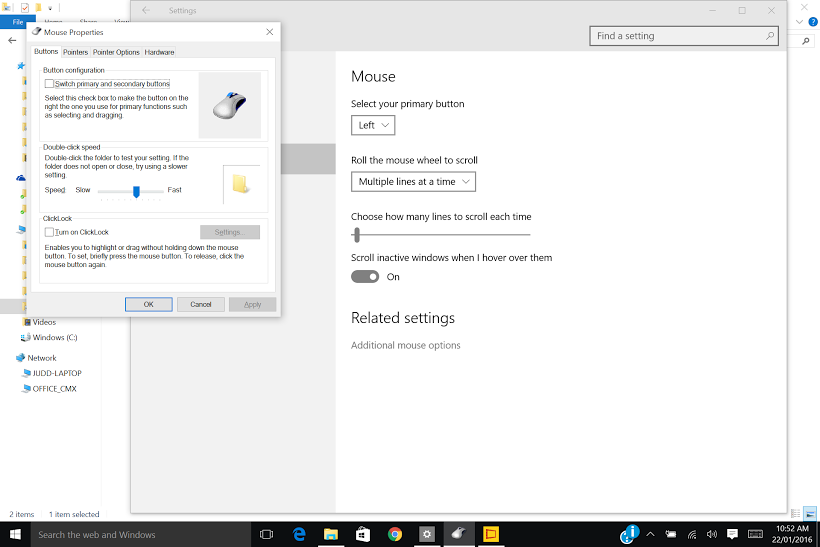 windows 10 touchpad gestures not working hp