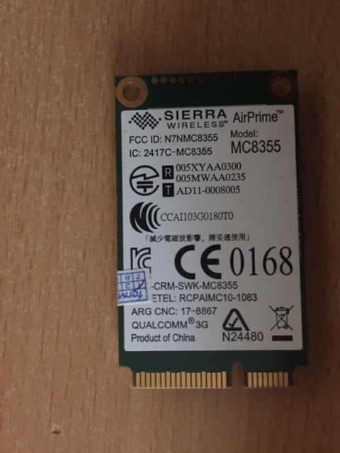 HP Elitebook 8460p does not recognise un2430 WWAN card - HP Support
