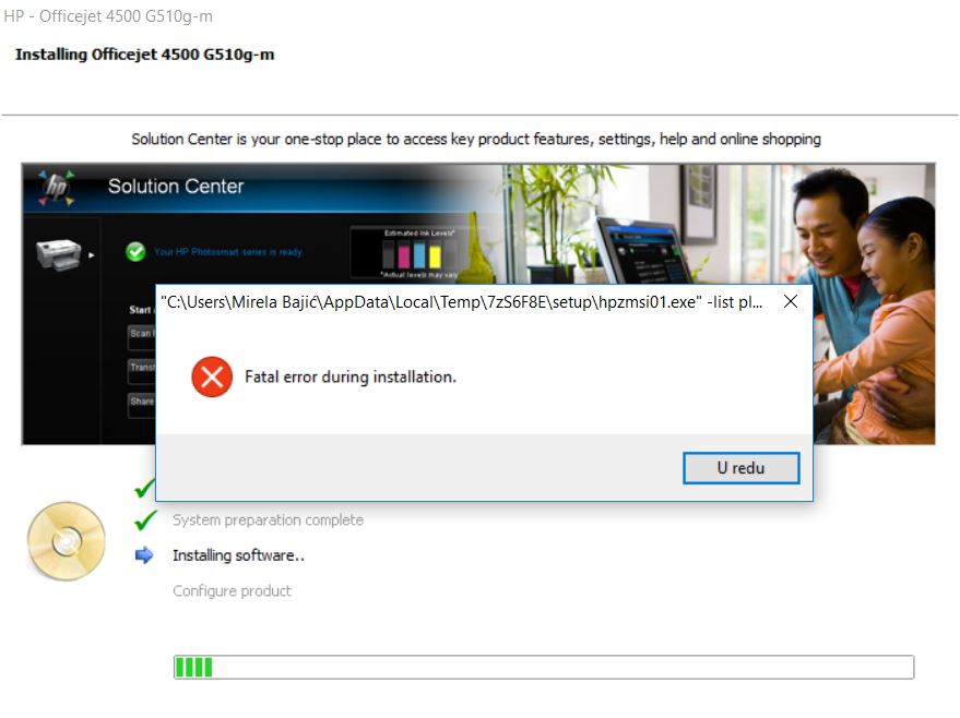 download hp officejet 4500 driver for windows 10