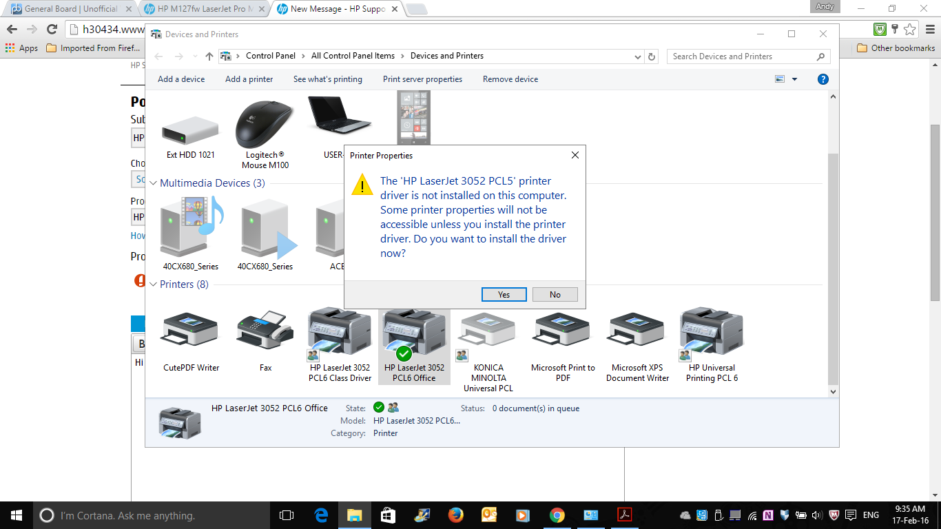 hp 3055 printer scanner driver windows 8