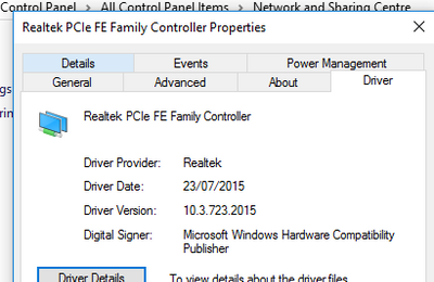 pcie gbe family controller download