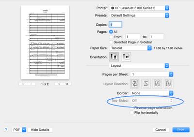 78350ca5ac Solved  HP 5100dtn not printing duplex on Mac OSX Yosemite - HP ...
