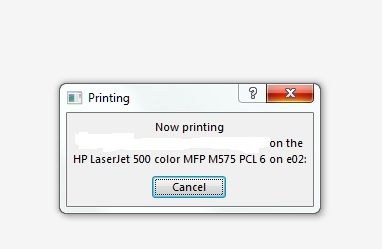 Solved: Solution: Can't print Microsoft Office documents