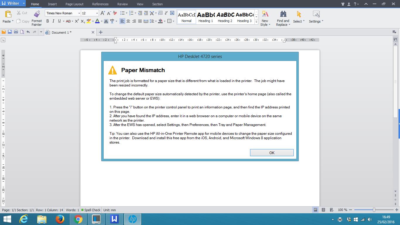 Paper Mismatch Error Galvinsdinnerhousestjoe Block Diagram Xeroxwc3045 Im Constantly Getting A Message Of Everytime After Print Job