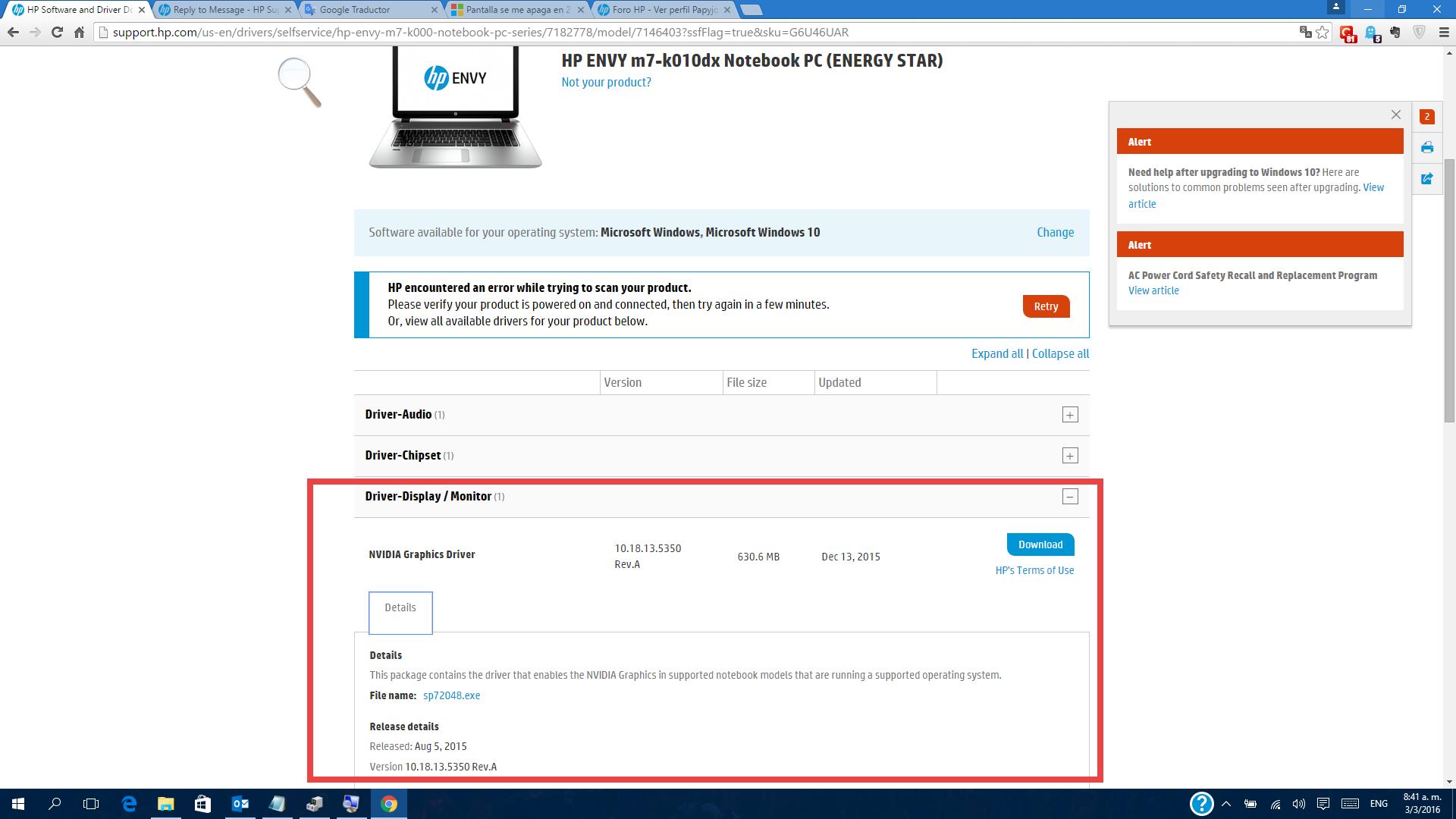 intel r hd graphics 4600 windows 8.1 64 bit
