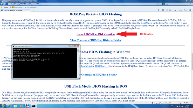 Bios Executable File