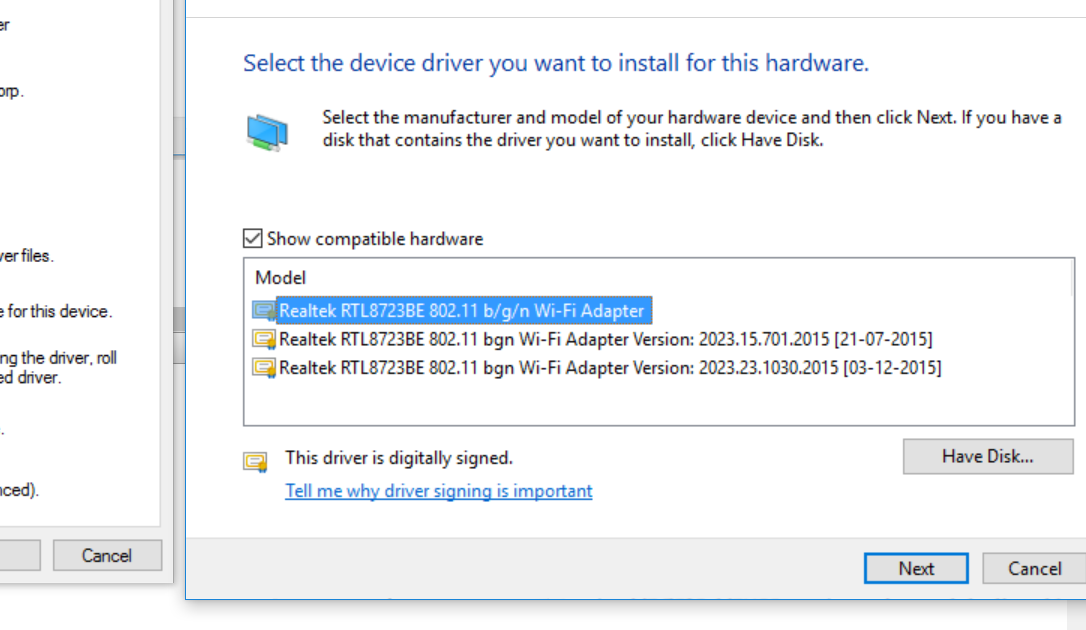 download realtek wifi driver for windows 10 64 bit