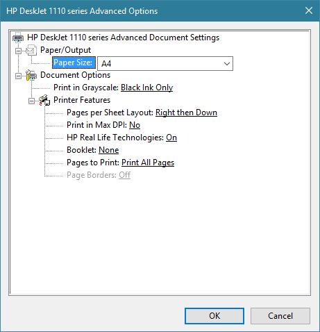 photograph relating to Printable Margins identify HP DeskJet 1115 margins - HP Provider Nearby - 5543069
