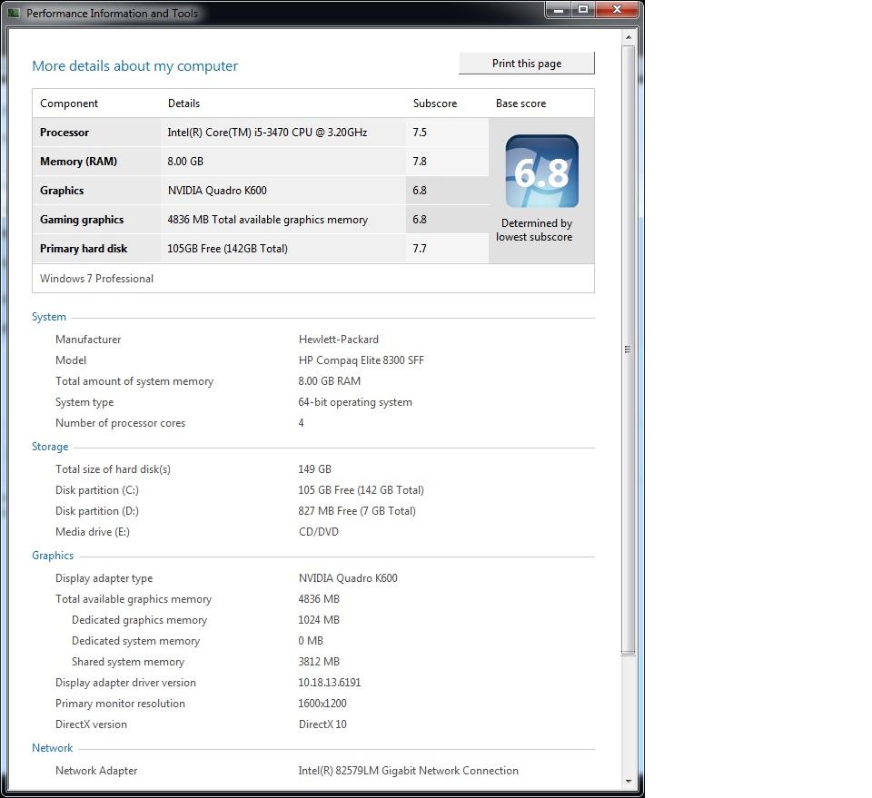 Graphics Card upgrade for HP Compaq Elite 8300 SFF PC - HP