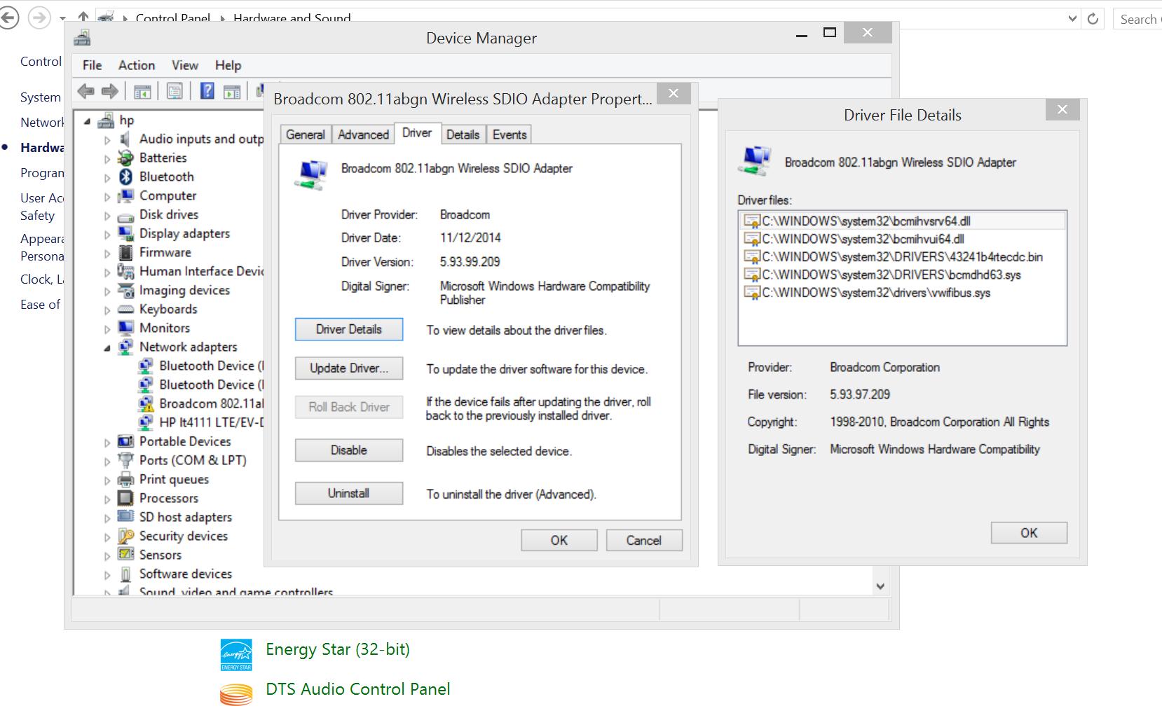 elitepad 1000 g2 broadcom wwan connectivity issues - HP Support