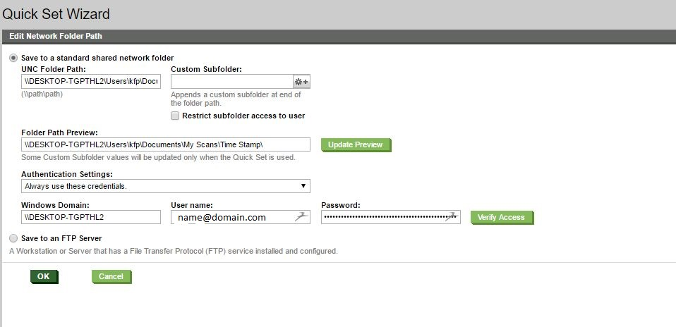 Solved: Error Scan to Folder MFP 577 - HP Support Community - 5571652