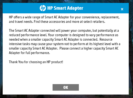Solved: HP Smart Adapter HP Alart  - HP Support Community