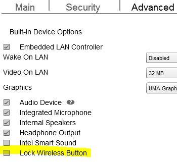 Download Driver: HP EliteBook 820 G3 Wireless Button