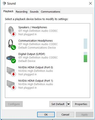 Solved: Front Audio Jack quit abruptly - months after Win 10