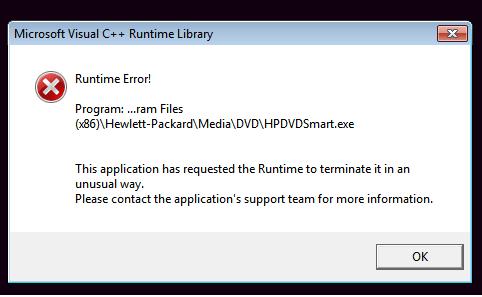 HPDVDPlayer error.png