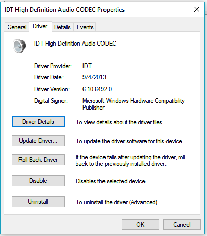 SRS Audio Control Panel Not Working - HP Support Community - 5642196
