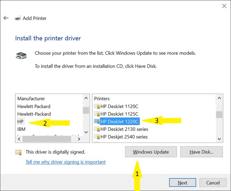 Hp deskjet 1220c printer driver windows 10 32 bits sur startimes.
