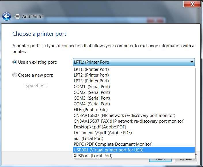 Adobe pdf port printer download