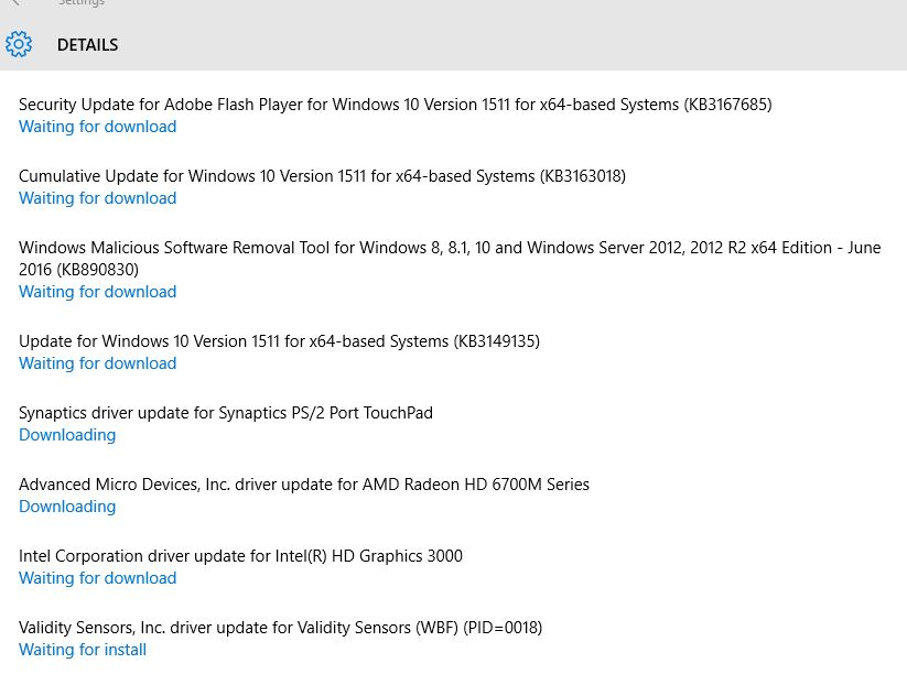 Some devices are NOT recognised by Windows 10 Home(64Bit) - HP