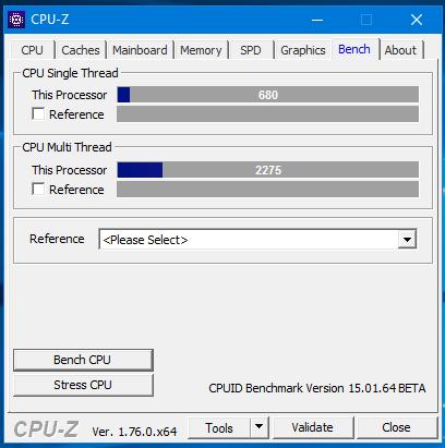 BENCH CPU