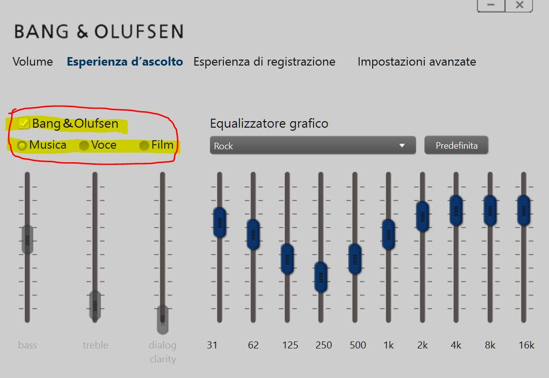 cannot use bang olufsen audio control hp support forum 5685585. Black Bedroom Furniture Sets. Home Design Ideas