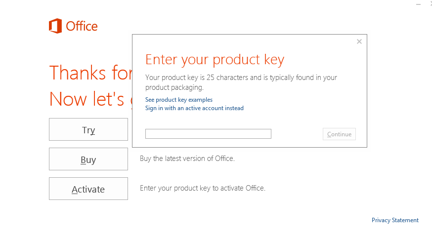 ms office product key purchase
