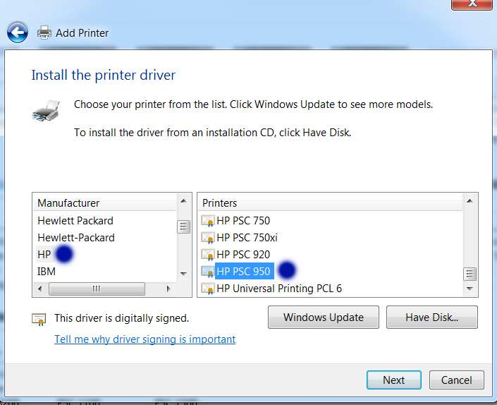 Hp (hewlett packard) psc 750 (700) drivers download update hp.