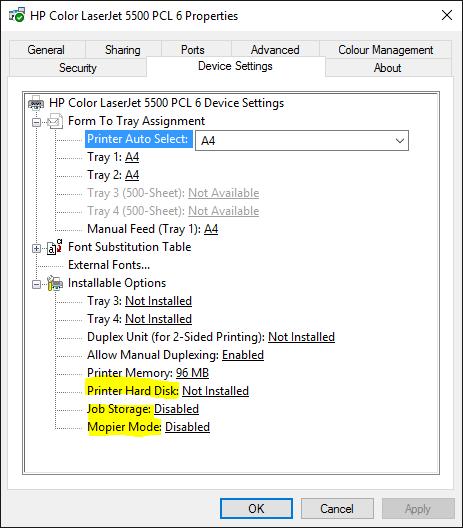 HP Universal Print Treiber Windows 7