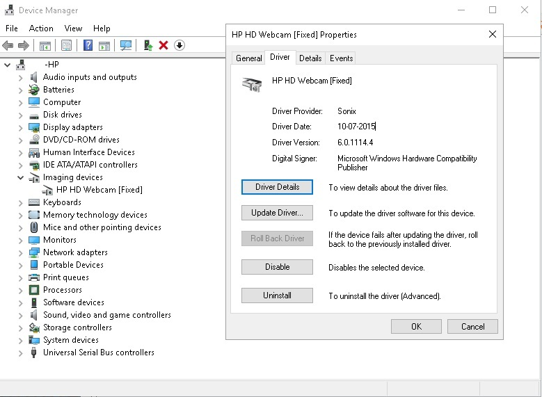 HP Universal Camera Windows 8 X64 Driver Download
