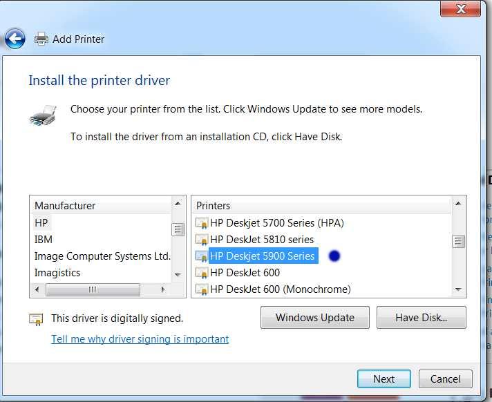 Hp deskjet 5940 photo printer driver for windows 7.