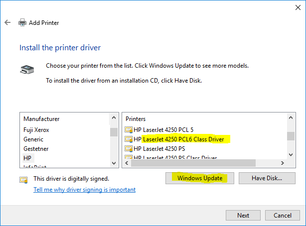 Hp laserjet 4250 printer driver download for window xp|7|8. 1.