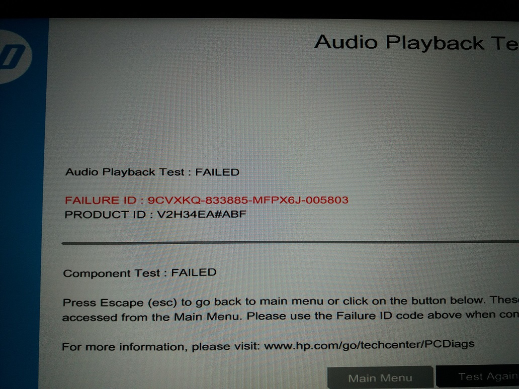 Solved: No Sound from the Speakers - Audio PlayBack test