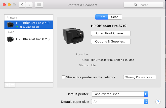 hp driver download officejet pro 8710