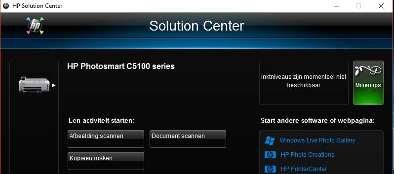 Hp photosmart c5100 series printer driver download.