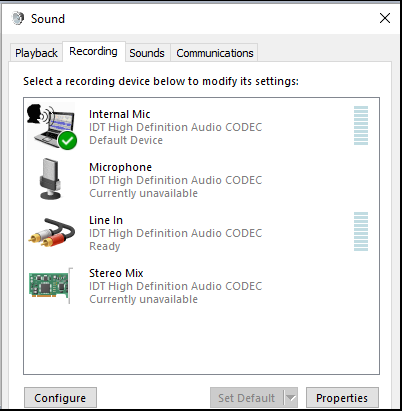 idt audio driver windows 10 32 bit