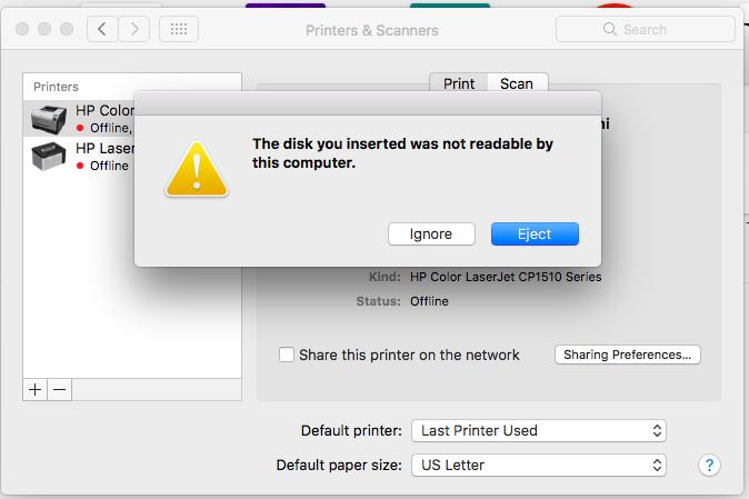 MAC Error
