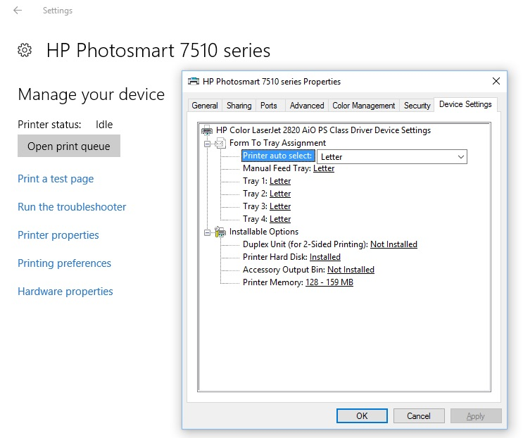 HP Photo Creations Wont Print Photos In Color