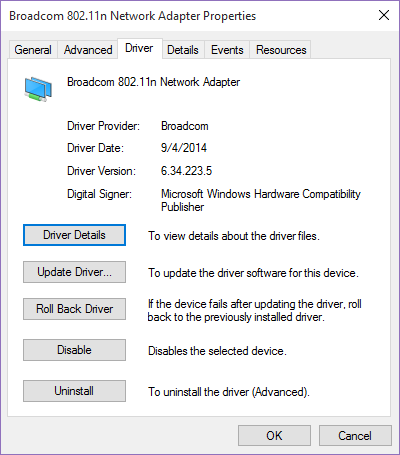 driver windows xp carte wifi broadcom 802.11