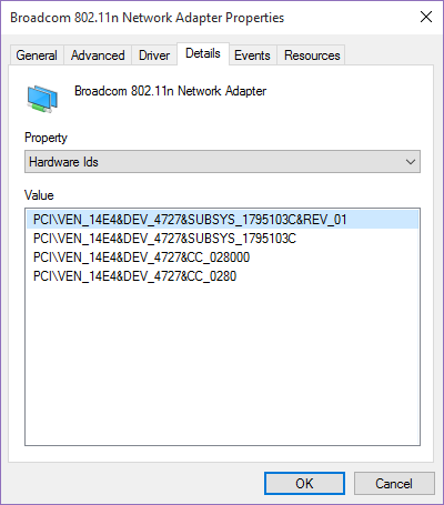pilote carte wifi broadcom 802.11n
