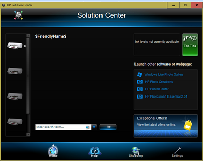 Hp printers hp solution center software frequently asked.