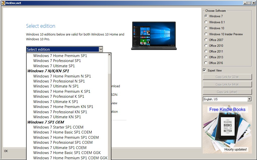 windows 7 hp oem