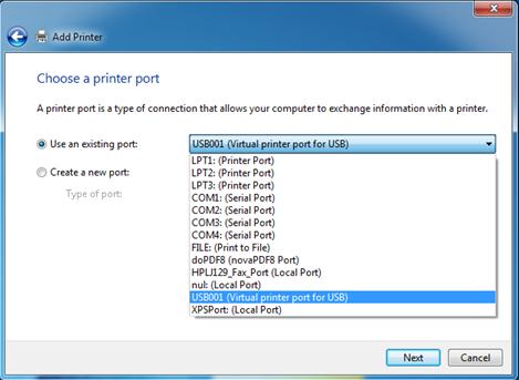 Драйвер поддержки usb принтера windows 7.