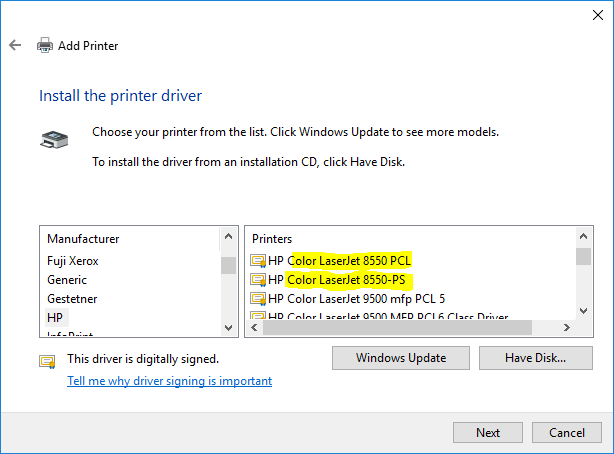 Hp color laserjet 8550 driver download drivers & software.